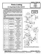 3 NEW AREVA FRAMATOME ASCO 1251121-083 SEAL KITS 324112 HYDRAMOTO NH95 MODEL B1