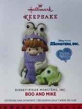 Hallmark Ornament 2013-Boo & Mike-Monsters, Inc.-Disney-Pixar-Precious Moments
