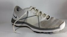 Nike Lunar Summer Lite Womens 6 M Golf Shoes Sneakers 628539 002 White Gray