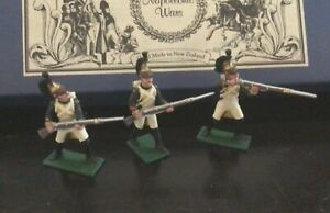 Regal Toy soldiers Napoleonic 5 French Dragoons NCO set. 54 mm metal soldiers