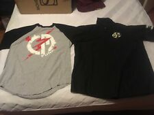 2013 WWE Authentic CM Punk Special Edition Baseball XL T-Shirt and Work Shirt XL
