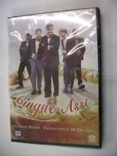 CINQUE ASSI - DVD PAL SIGILLATO - CHARLIE SHEEN - CHRISTOPHER MCDONALD