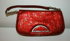 CHRISTIAN DIOR cute patent leather red bag - EXCELLENT!