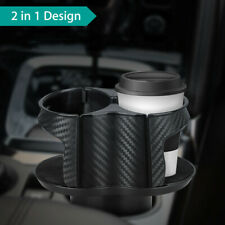 Universal 2in1 Car Seat Cup Holder Drink Beverage Coffee Bottle Mount Organizor