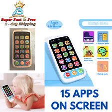 Baby Educational Mobile Phone Learning Music Phone Kids Developmental Toys Gift