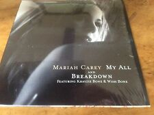 MARIAH CAREY - My All / Breakdown - 1998 2trk Picture Card cd Single.
