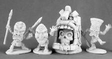 Dark Heaven Legends Reaper 03497 Evil Shrine & Pygmy Savages