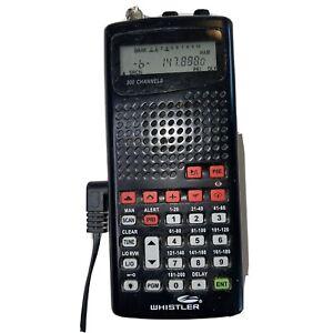 Whistler WS1010 200 Channel Portable Handheld Radio Scanner E10