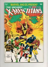 Marvel and DC Present X-Men & New Teen Titans #1 3RD DEATHSTROKE VF 8.0 DARKSEID