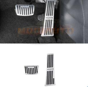 For 2019-2021 Hyundai Palisade Silver Brake & Gas Pedal Accelerator Pad Cover