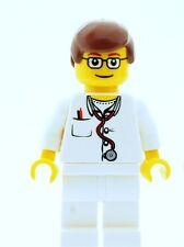 Lego Macho Nurse doctor Medic Minifigura Nuevo Ciudad City