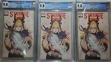 Strange Academy #1 3 Copies CGC 9.8 Peach Momoko Trade Variant