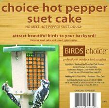 Birds Choice Hot Pepper Suet Cake 11.75 oz.