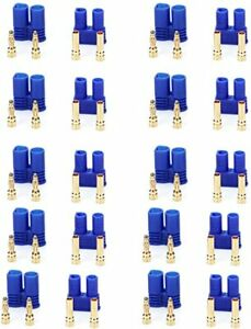EC2 Style Battery Connector Male/Female (10 Pairs)