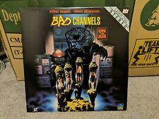 Bad Channels LaserDisc Full Moon rare
