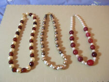 Pearl Coral Costume Jewellery