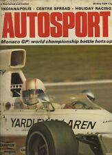 Autosport May 30th 1974 *Monaco Grand Prix*