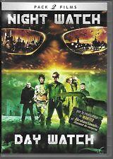 2 DVD ZONE 2 / 2 FILMS--NIGHT WATCH & DAY WATCH--TIMUR BEKMAMBETOV