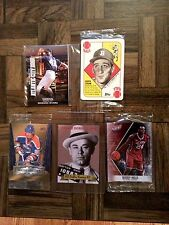 2016 National Sports Collectors Convention VIP Promo Cards Complete Sets Sealed