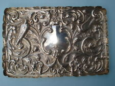 Sterling Silver Rectangular Dresser Tray --- By William Comyns & Sons -- London