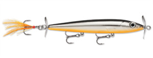 "Rapala X-Rap Prop 11 ""Black Chrome Orange"""