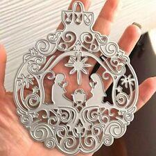 Nativity Ornament Metal Cutting Dies Steel Craft Die Cuts DIY Scrapbooking  #mi