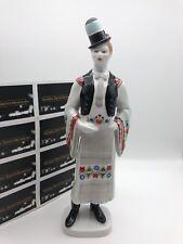 Hollohaza Porzellan Figur 31 cm. 1 Wahl, Top Zustand