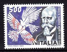 Italy - 1983 Ernesto Moneta (Peace Nobel prize) - Mi. 1844 MNH