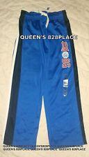 Nwt Gap Kids Boys size 8 M blue White logo stripe athletic pants activewear new