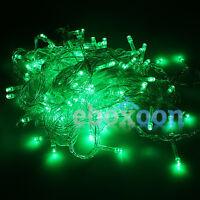 100/200 LED Xmas Fairy Party String Decor Lights Christmas Tree Holiday Lighting