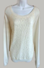 Final Sale! 60% OFF New US Sweaters Women Sweater Cream Combo Size XL Orig.$49