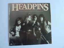 HEADPINS LINE OF FIRE VINYL LP EXCELLENT CONDITION POLY 5629