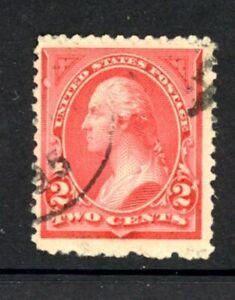 "US Scott # 250a - Used  - ""Rose"" - CV=$6.00"