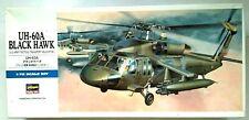 HASEGAWA 1/72 UH-60A BLACK HAWK HELICOPTER