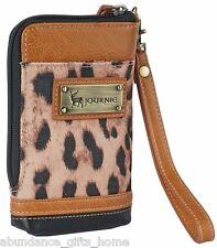 Anna Nova Journie Animal Instinct Phone Pouch w/ strap & card slots *New*