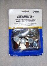 1166Ppk3 Bypass Sliding Door Hardware Set by Johnson Hardware, 1166/2200 tracks