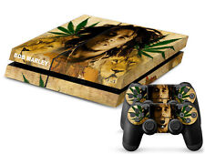 SONY PS4 PlayStation 4 SKIN Design Adesivo Pellicola Protettiva Set - Bob Marley