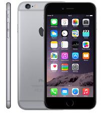 Téléphones mobiles noirs Apple iPhone 6, 4G