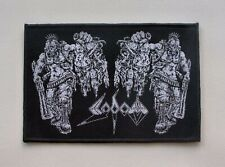 SODOM --- Woven Patch / Kreator Destruction Hellhammer Possessed Morbid Saint