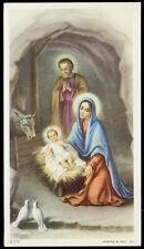"""santino-holy card""""""""ediz. NB serie 3  n.179 NATIVITA'"""