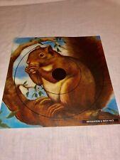 Vintage Paper Litho Hunt & Target Practice Squirrel 7�x7�