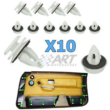10 X Clips para guarnecido de panel de puerta compatible con BMW X5 E53