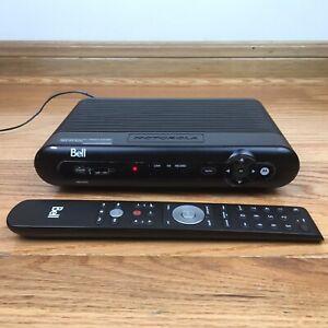 MOTOROLA BELL VIP2502 IPTV SET TOP BOX FIBE Wireless Receiver + Remote BUNDLE