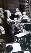 1940 Original GIANT ACTION PHOTO Conductor COMPOSER ZOLTAN KODALY Hungary MUSIC