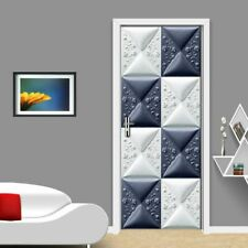 Door Modern Wallpapers 3d Self-adhesive Home Mural Creative Wall Cover Wallpaper