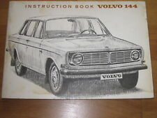 ORIG. Betriebsanleitung Volvo 144, 1966, PLUS Extras! Overdrive, Autom., SELTEN!