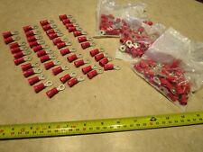 """RING TERMINAL VINYL 3//8/"""" RED 8 GAUGE #109A-50PK"""