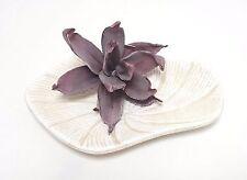 Schale Tisch Deko Teller Gilde Handwerk Keramik 22 cm creme