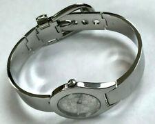 GUCCI YA067509 Silver Dial Bangle Belt 6700L Ladies Quartz Watch 28mm WARRANTY