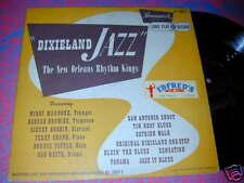 New Orleans RHYTHM KINGS Dixieland Jazz LP 10 inch 1950